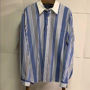 Ralph Lauren Long Sleeve Dress Shirt Size XXL